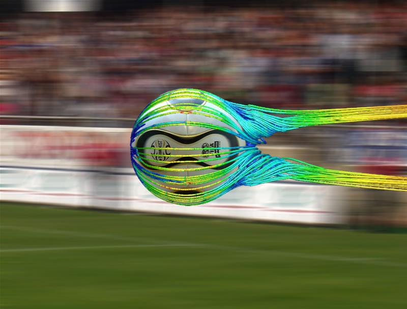 аэродинамика мяча