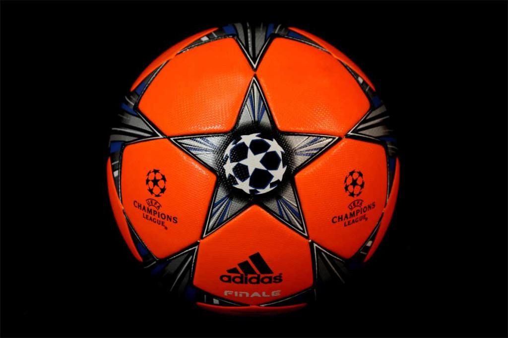 адидас мяч оранжевый
