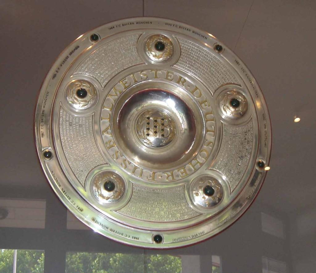 салатница, трофей бундеслиги