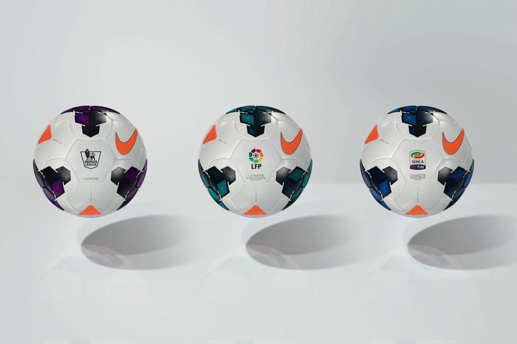 мячи европейских футбольных лиг сезона 2013-2014