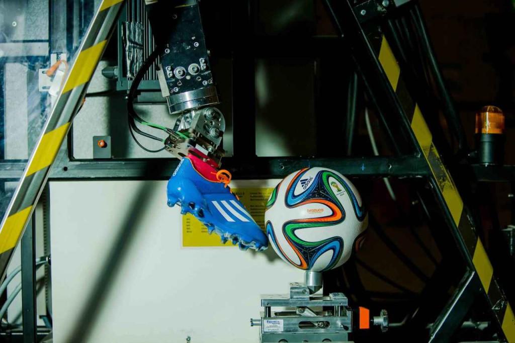 тестирование мяча бразука