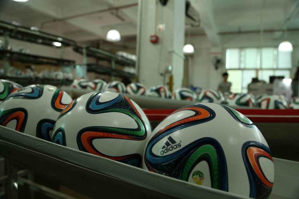 изготовление мяча бразука
