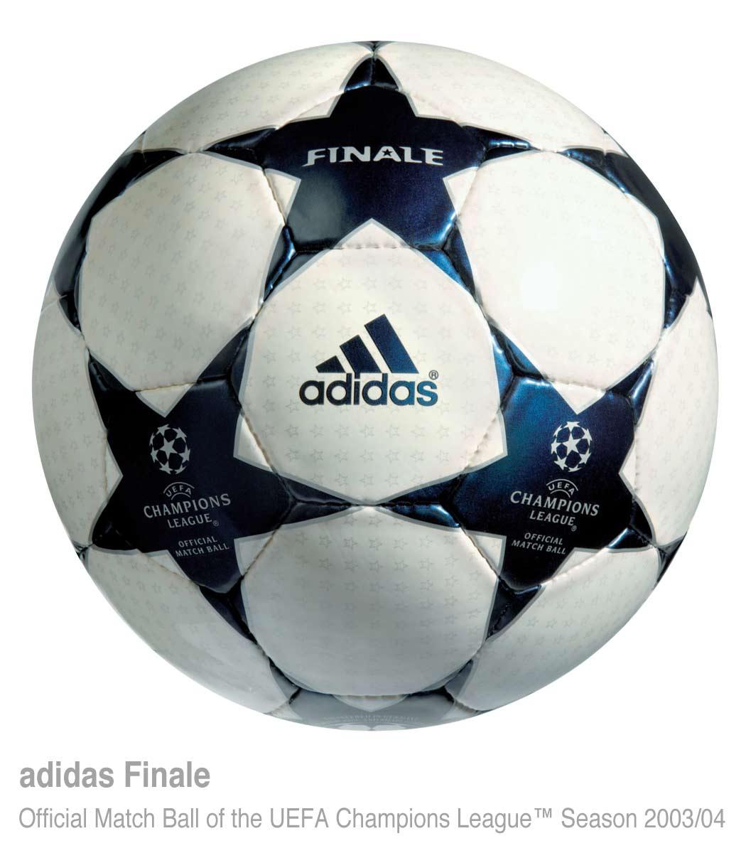 мяч Суперкубка УЕФА 2003 года — Adidas Finale 3