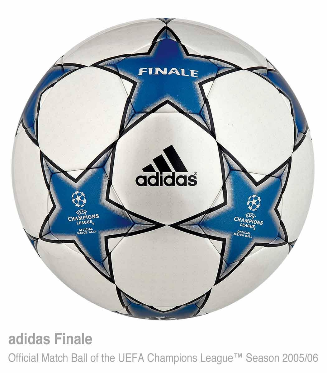 мяч Суперкубка УЕФА 2005 года Adidas Finale 5