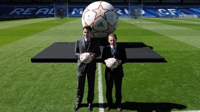 презентация мяча финала лиги чемпионов finale madrid 2010