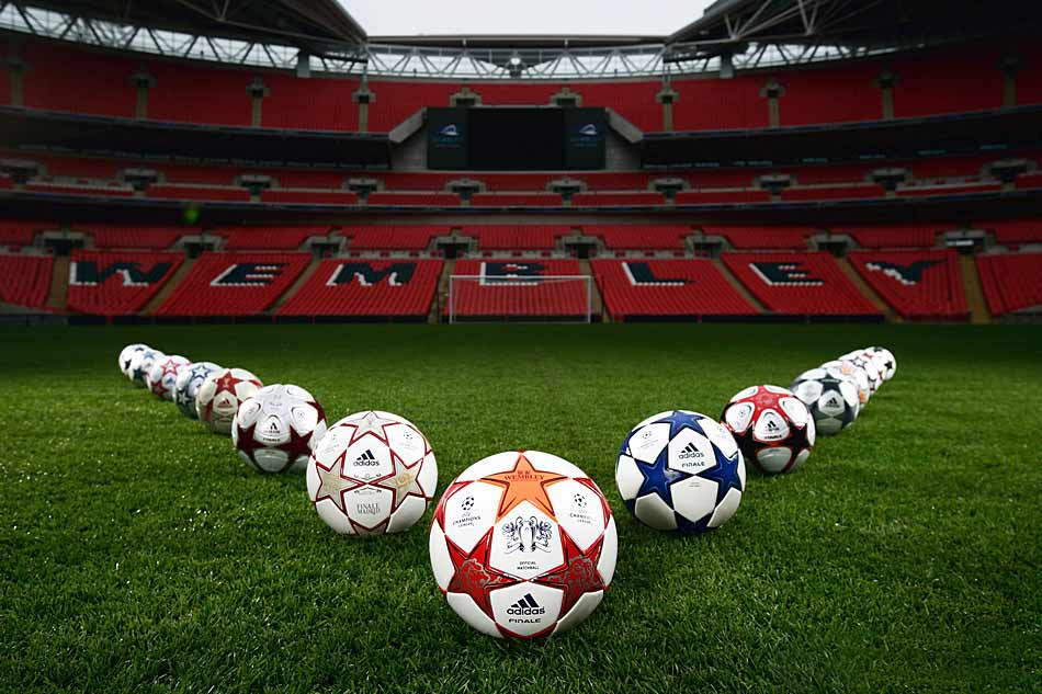 мяч финала лиги чемпионов 2011 - adidas finale london