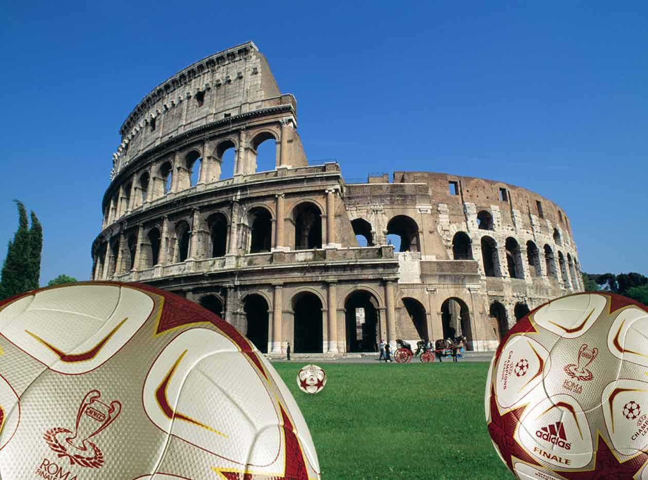 Italy, Rome, Coliseum, finale roma