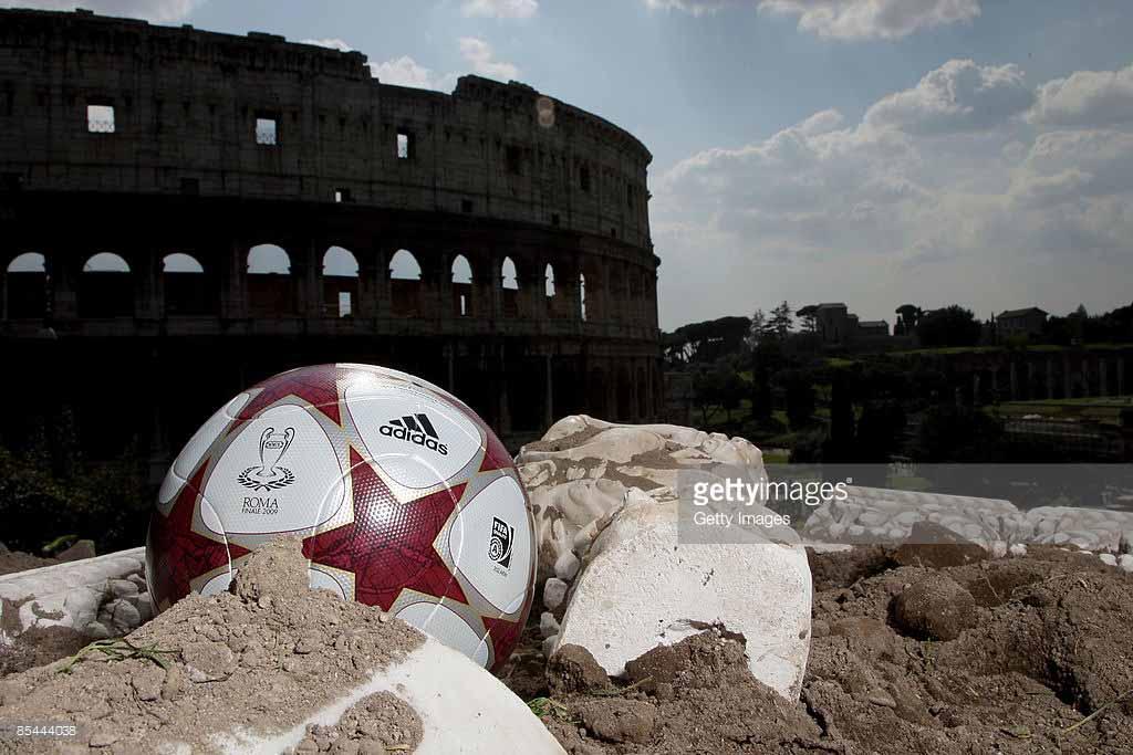 фото мяч лиги чемпионов 2009 финал рома, колизей