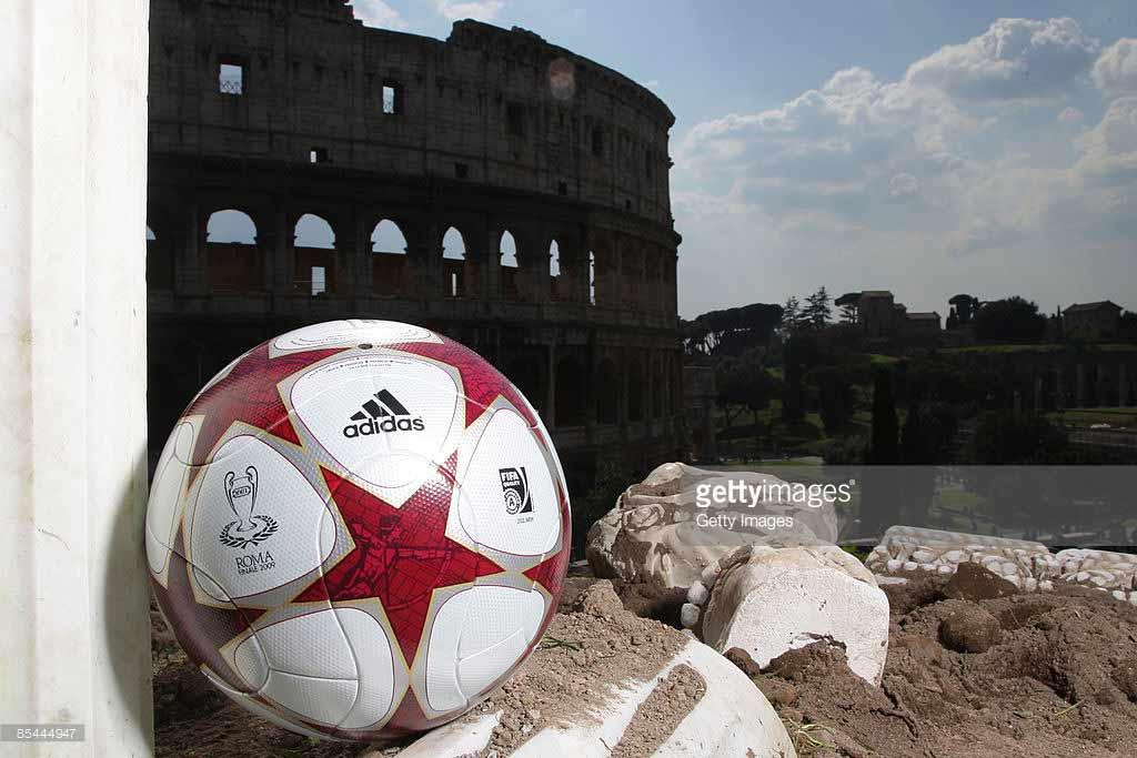 мяч лиги чемпионов 2009 финал рома, колизей