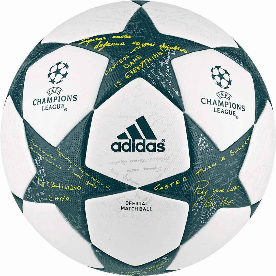 мяч лиги чемпионов сезона 2016-2017 Adidas finale 16