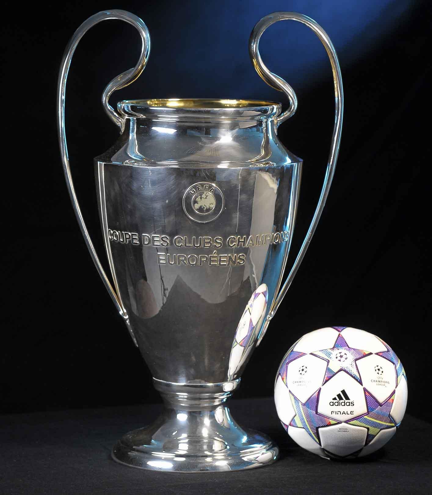 кубок лиги чемпионов с мячом лиги чемпионов 2011-2012 adidas finale 11