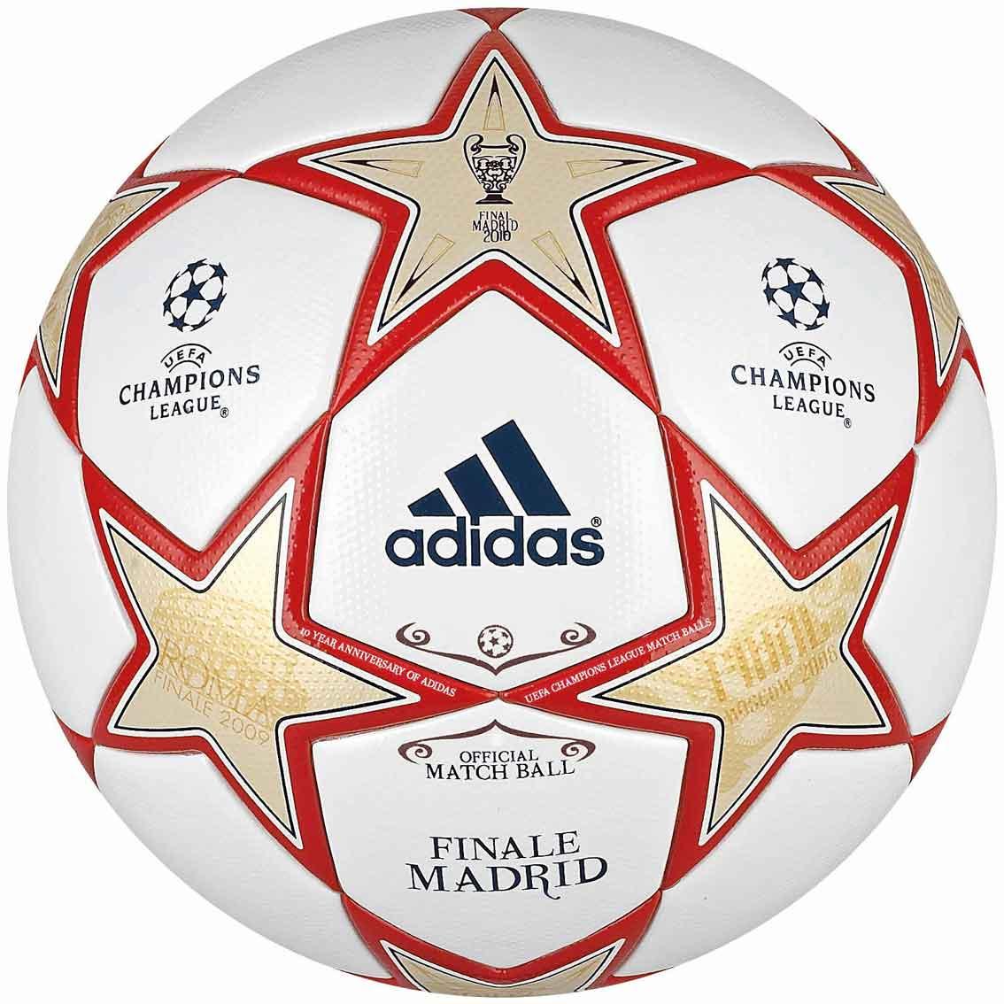 мяч финала лиги чемпионов 2010 - finale madrid