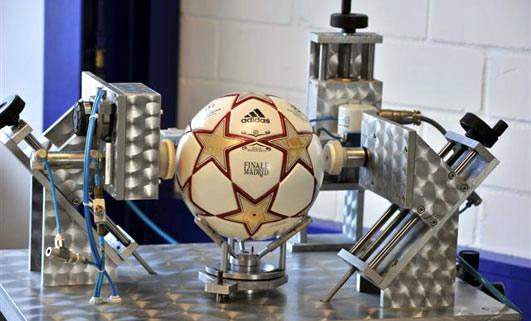 тестирование мяча финала лиги чемпионов 2010