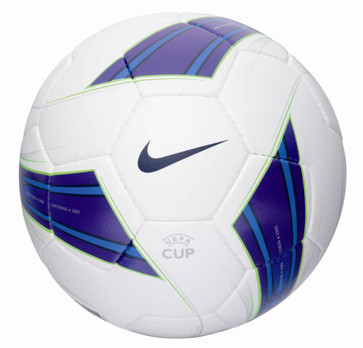 Мяч финалf Кубка УЕФА 2008 - Nike UEFA Cup Conquest Ball