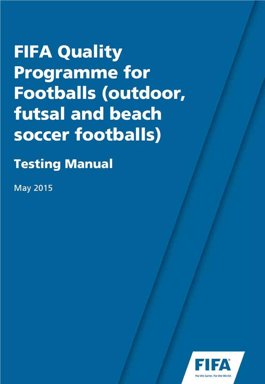 руководство фифа по тестированию мячей 2015