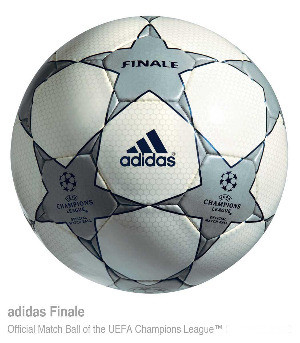 Официальныq мяч Суперкубка УЕФА 2001 года — Adidas Finale 1