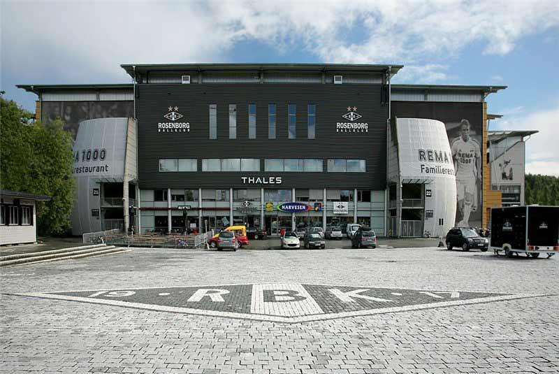 "Стадидон Суперкубка УЕФА 2016 ""Леркендале"" - домашняя арена ""Русенборга""."