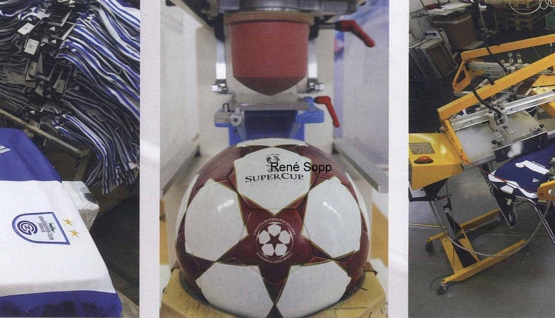 мяч Суперкубка УЕФА 2004 года — Adidas Finale 4