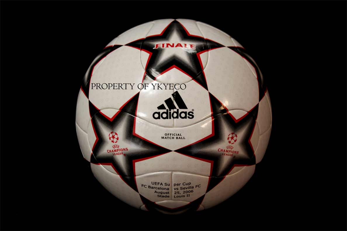 Официальныq мяч Суперкубка УЕФА 2006 года - Adidas Finale 6