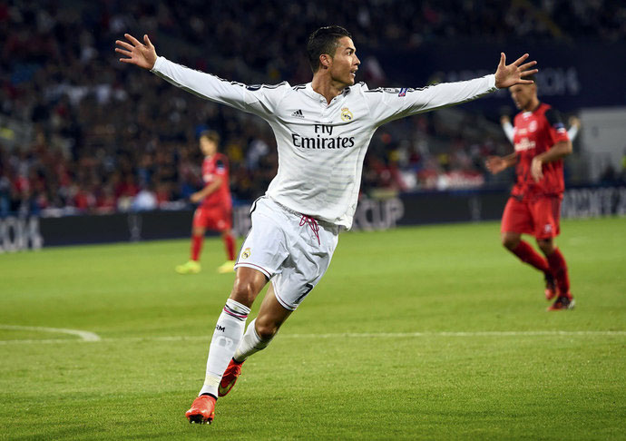 Криштиану Роналду, суперкубок УЕФА 2014