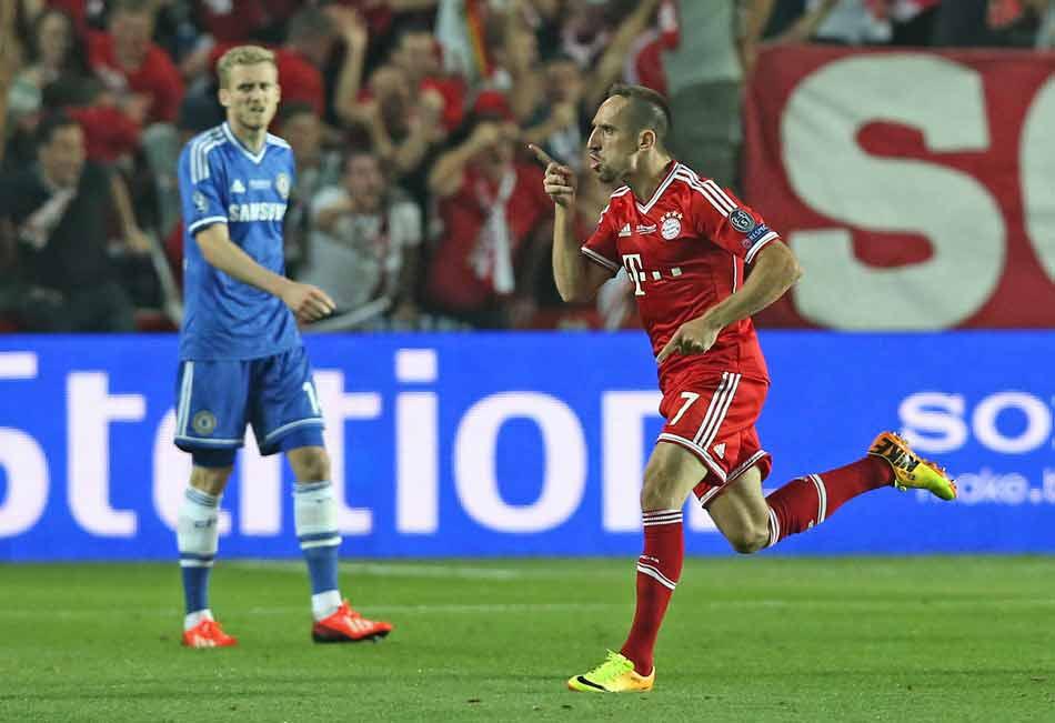 суперкубок УЕФА 2013 - Франк Рибери