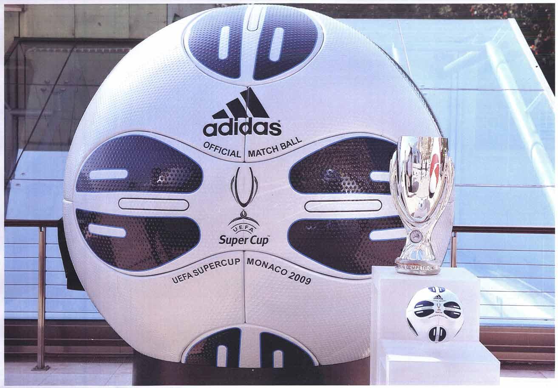 Презентация мяча Суперкубка УЕФА 2009 в Монако