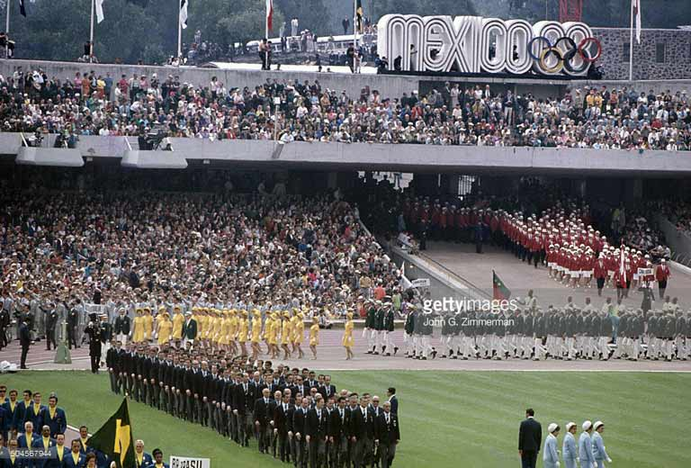 Открытие Олимпийских игр 1968 года