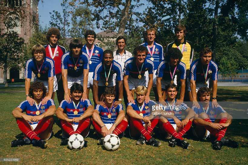Сборная Франции - олимпийский чемпион 1984