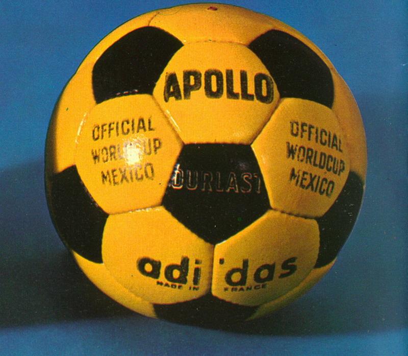 Telstar Apollo - мяч Олимпийских игр 1972 года