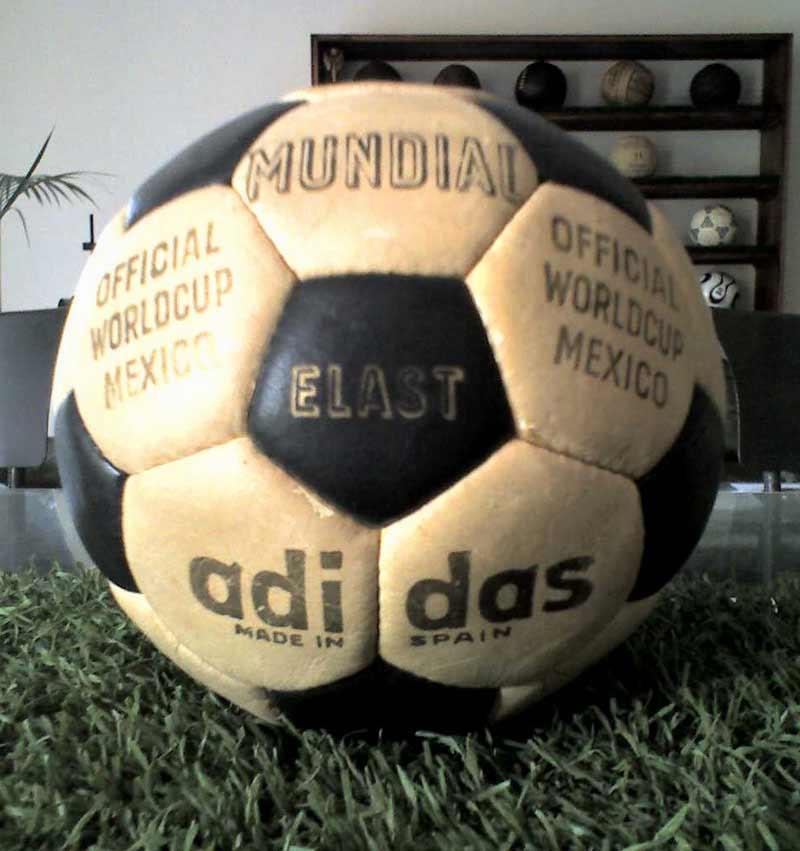 Официальный мяч Олимпийских Игр 1968 года - Mundial Elast