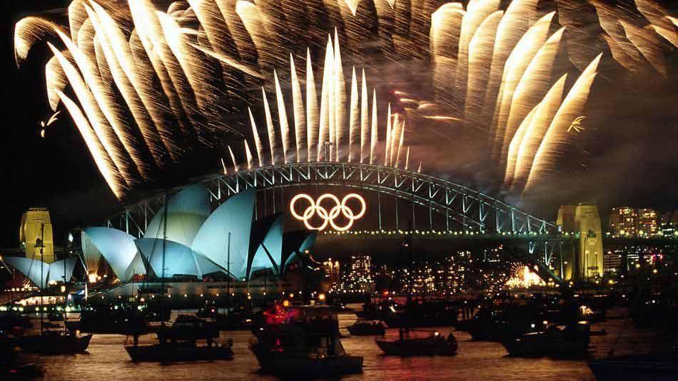 открытие Олимпийских игр 2000