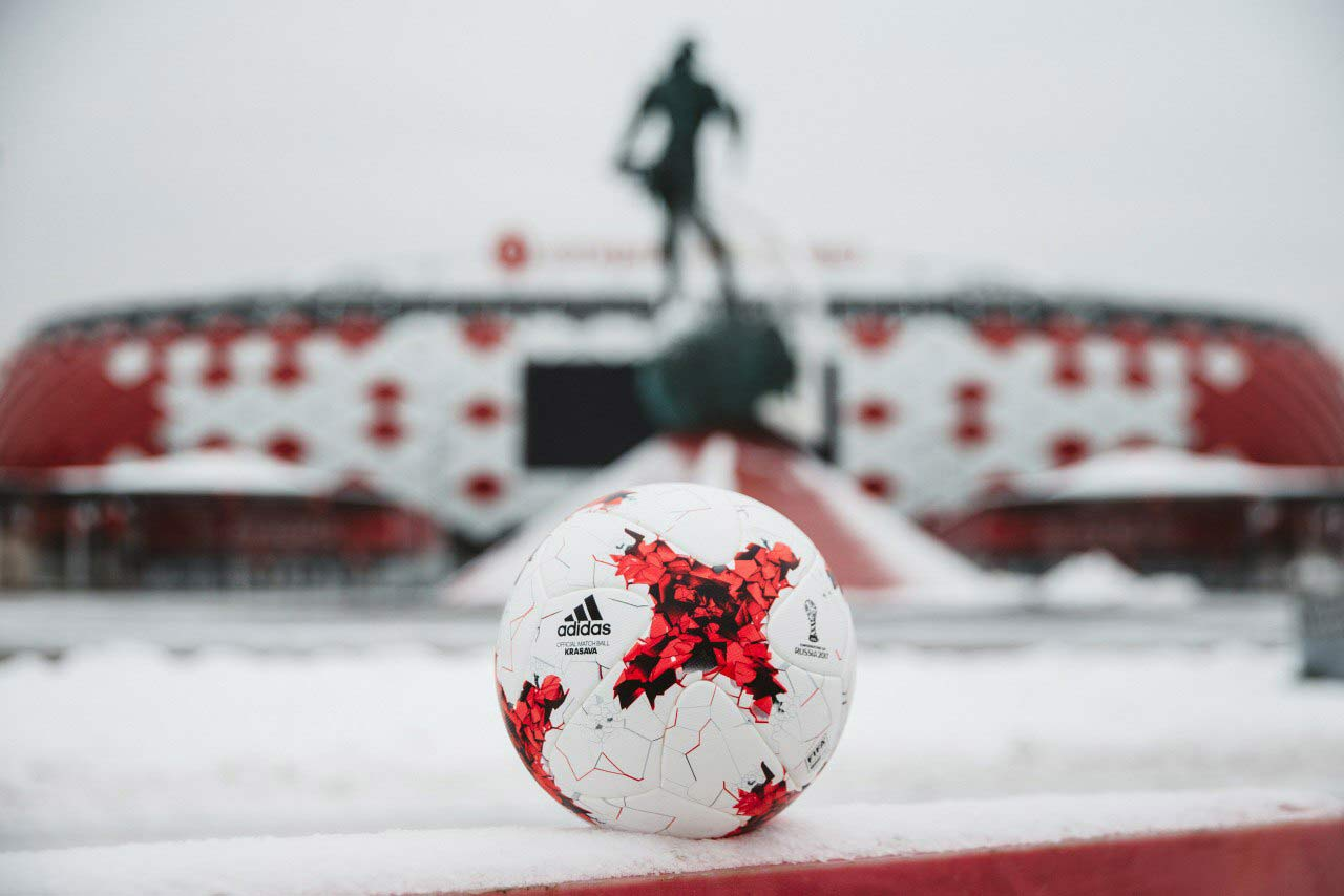 Официальный мяч Кубка Конфедераций 2017 - Красава