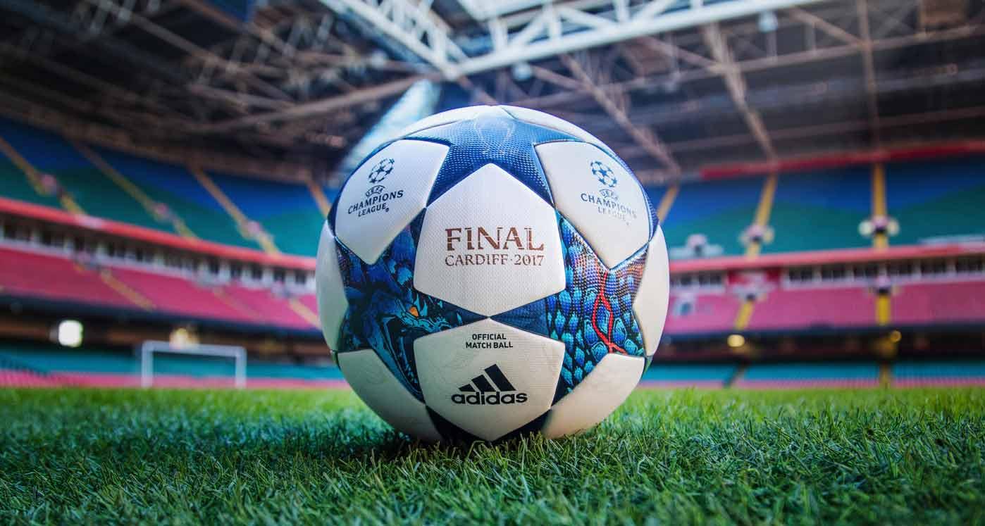 Официальный мяч плей-офф и финала Лиги Чемпионов 2017 - Finale Cardiff 2017 Final