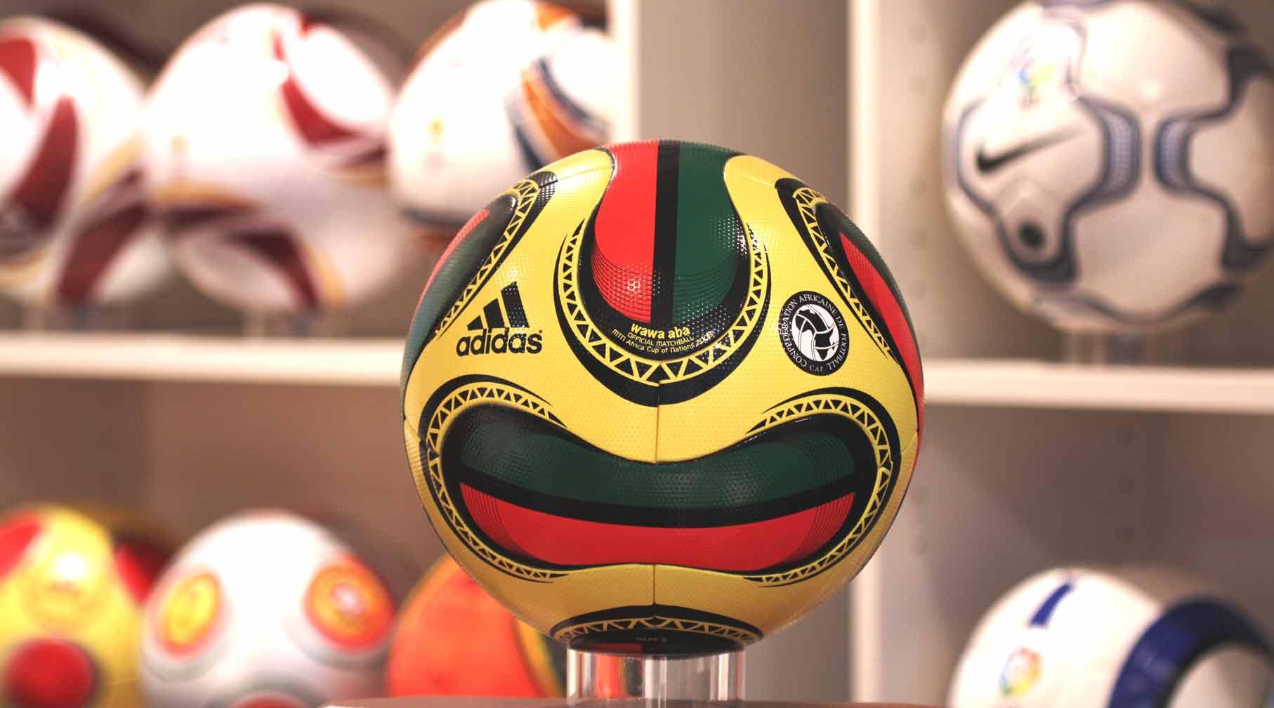 Официальный мяч Кубка Африканский Наций 2008 - Wawa aba