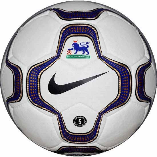 Официальный мяч Английской премьер Лиги сезонов 2000-2001 NIKE GEO MERLIN