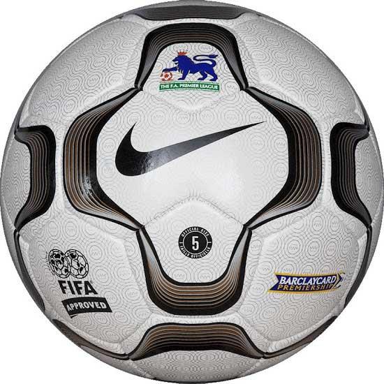 Официальный мяч Английской премьер Лиги сезонов 2002-2003, 2003-2004 — NIKE GEO MERLIN VAPOR