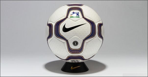 Официальный мяч Английской премьер Лиги сезонов 2000-2001, 2001-2002 - NIKE GEO MERLIN