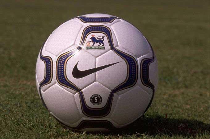 Официальный мяч Английской премьер Лиги сезонов 2001-2002 - NIKE GEO MERLIN