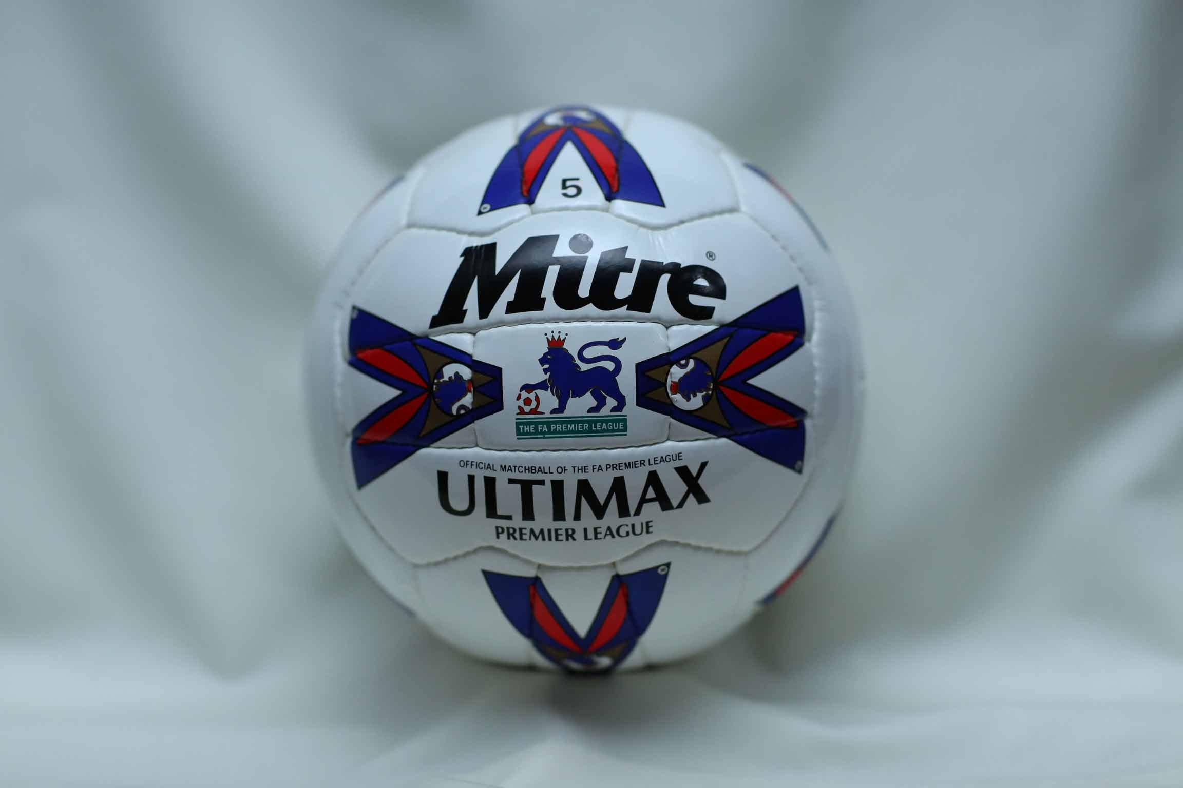 Mitre Ultimax Английской премьер лиги 90х