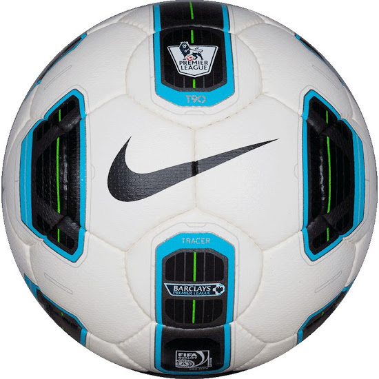 Официальный мяч Английской премьер Лиги сезонов 2009-2010 —Nike Total 90 Tracer