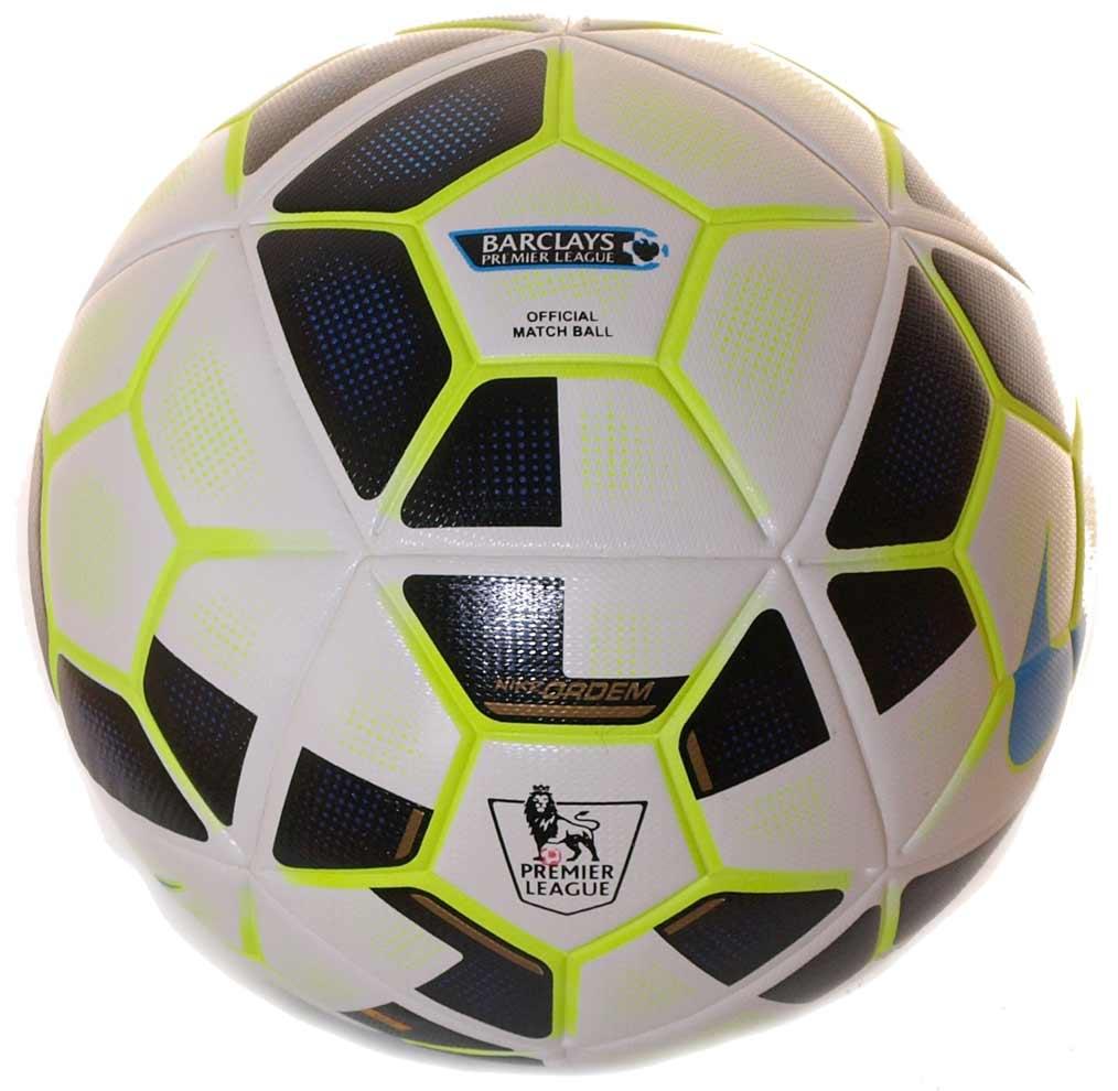 Официальный мяч Английской премьер Лиги сезона 2014-2015 — Nike Ordem 2